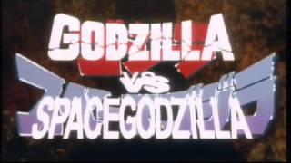 Godzilla vs. SpaceGodzilla (1994)  - Textless Opening