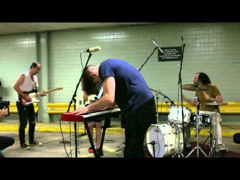 "Clear Plastic Masks - ""Pegasus In Glue"" Live"