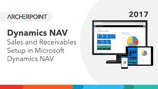 Dynamics NAV 2017 - Sales and Receivables Setup