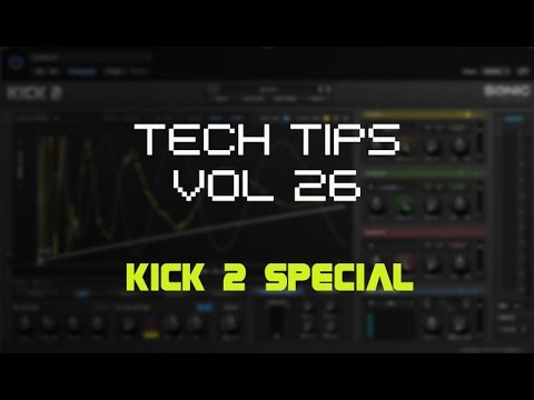 Tuning KICK Drums in KICK 2