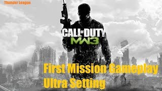 Call of Duty  Modern Warfare 3 First Mission Gameplay Ultra Setting