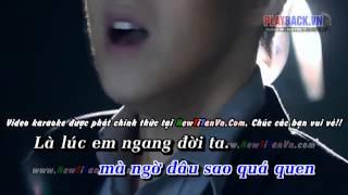 Karaoke Dấu Mưa - Trung Quân full beat