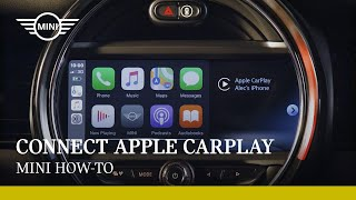 How to connect Aṗple CarPlay in your MINI | MINI How To