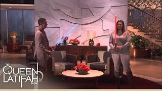 Freddie Prinze Jr. And Queen Battle It Out! | The Queen Latifah Show