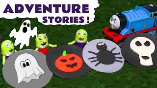 Thomas and Friends Play Doh spooky logos and toy stories for kids with the funny Funlings TT4U
