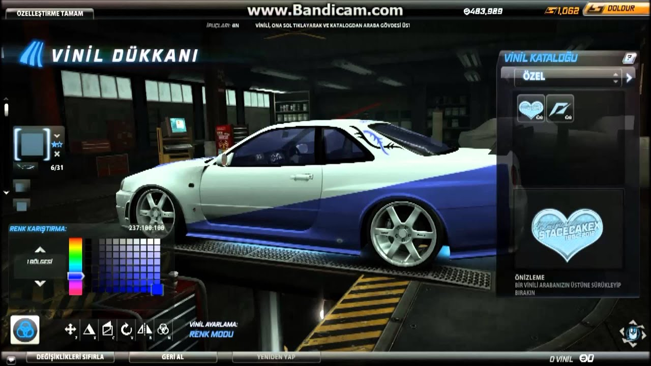 Fast And Furious 6 Cars Hd Wallpaper Nfs World Nissan Skyline R34 Nismo Brian O Conner