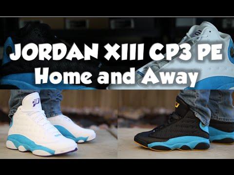 AIR JORDAN CP 13 PE HOME VS AWAY REVIEW ON FEET - YouTube cd16c4a3c