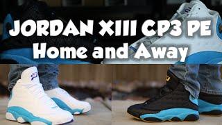 AIR JORDAN CP 13 PE HOME VS AWAY REVIEW ON FEET