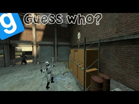 Garrys Mod Guess Who? Feat Quadrant Ep.1 YOULL NEVER TAKE ME ALIVE!