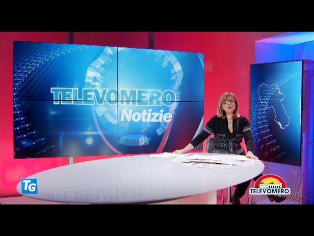 TELEVOMERO NOTIZIE 12 GENNAIO 2021 EDIZIONE DELLE 20 30