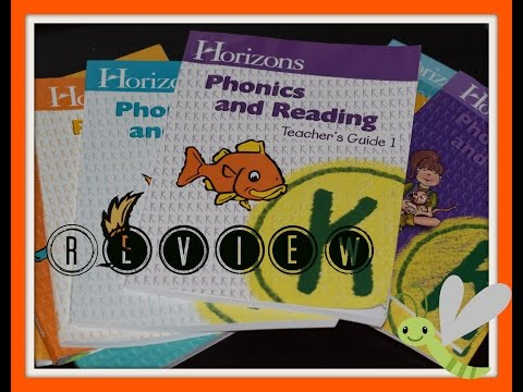 Horizons Kindergarten Curriculum l  Review