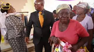 Pastor Dada Boat donates to widows on Christmas