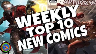 HOT TOP 10 NEW COMICS TO BUY FOR MAY 15th - NCBD WEEKLY PICKS FOR NEW COMIC BOOKS - SPIDERMAN & more