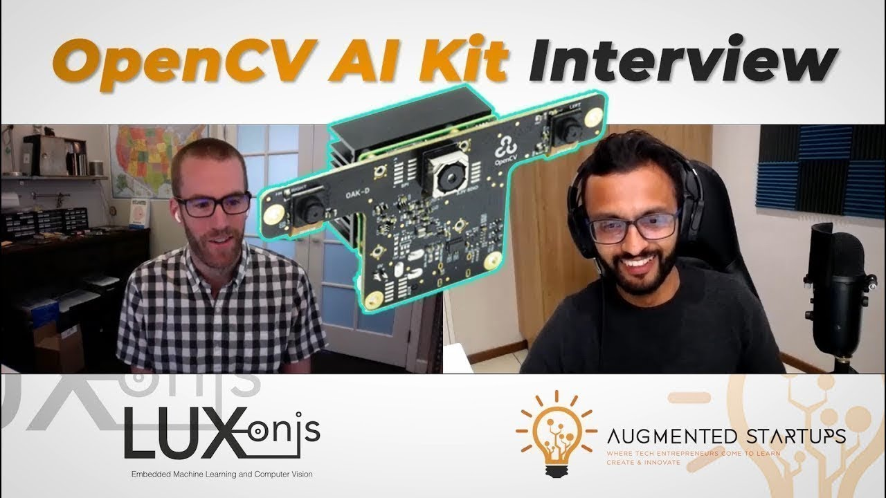 OpenCV AI Kit Interview with CEO Brandon Gilles | OAK-1 and OAK-D