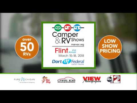 41st Annual Flint Camper & RV Show  at the Dort Federal Credit Union Event Center in Flint Michigan