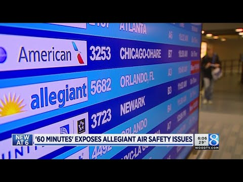 '60 Minutes' Allegiant story creates buzz at Ford Airport