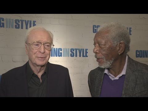 Going In Style: Sir Michael Caine & Morgan Freeman do not hang out
