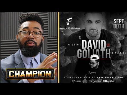 CHAMPION   DIZASTER VS CHASE BANKS - DAVID VS GOLIATH