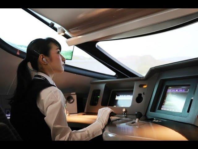 E5系新幹線を320キロで運転体験=鉄道博物館新館7月5日オープン