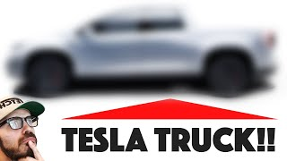 Here's what the Tesla Pickup Truck will look like
