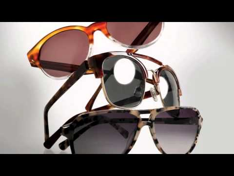 2014 style and trend eyewear and sunglasses for men and women, from ClearVision Optical
