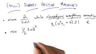 Still Support Vector Machines - Georgia Tech - Machine Learning