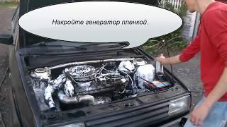 Как правильно помыть двигатель в авто.(Присадка Hi Gear для удаления сильных загряжнений. Помыли просушили завели и поехали., 2015-07-19T18:21:34.000Z)