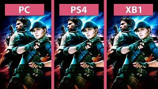 Resident Evil 5 – PC vs. PS4 vs. Xbox One HD Graphics Comparison  Biohazard バイオハザード5