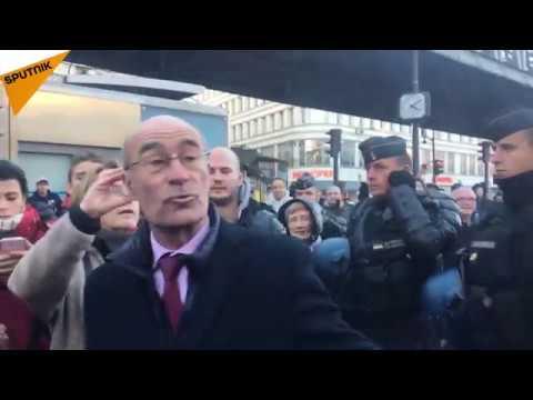 Jean-Yves Le Gallou s'exprime sur l'annulation de la manifestation «Défendons l'Europe» à Paris