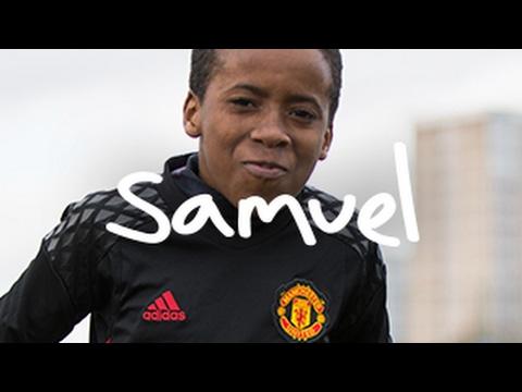 Samuel: Never giving up #UnitedandSamuel #UnitedandMe Pogba, De Gea, Ibrahimovic