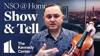 NSO @ Home: Ricardo Cyncynates, Assistant Concertmaster | Show & Tell