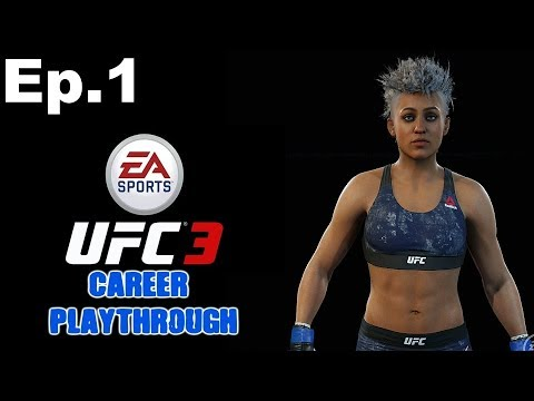 EA UFC 3 Womens Career Mode Episode 1 - Ororo Munroe!