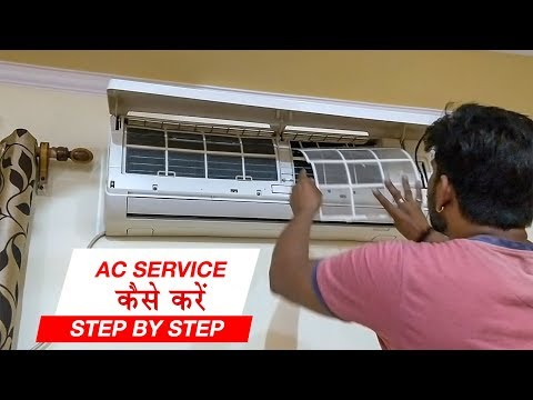 🔥How to SERVICE AC AT HOME | IN HINDI | ANSH VLOGS