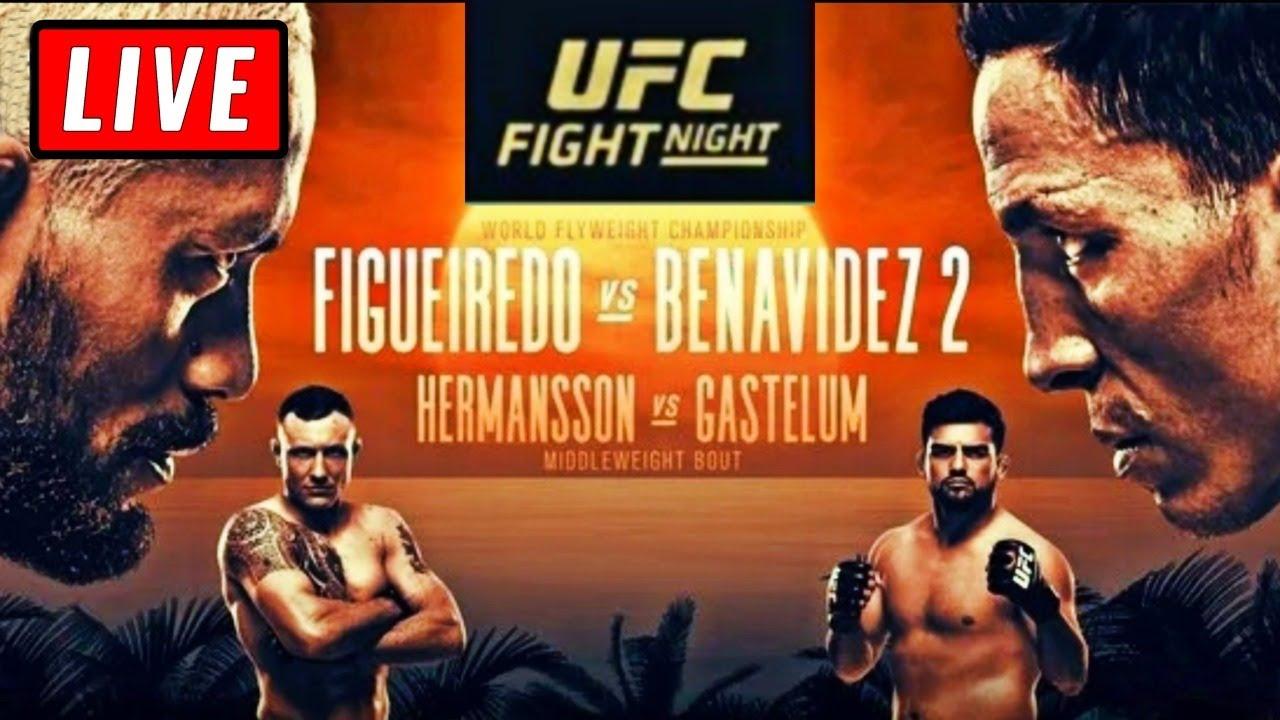 UFC Fight Night -- Joseph Benavidez vs. Deiveson Figueiredo 2 ...