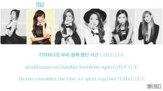 Gambar cover Apink (에이핑크) - LUV (러브) [Hangul/ Romanization/ English Color Coded Lyrics]