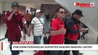 dukung madura united di laga final p4m kirim suporter maduratv 12 03 2016