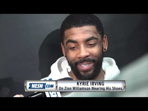 Kyrie Irving On Zion Williamson Wearing Nike Kyrie 4s In ACC Tournament