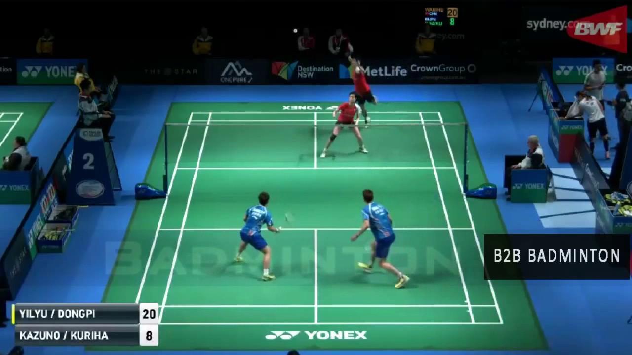 Badminton 2017 Australian Open Kenta KAZUNO Ayane KURIHARA vs WANG