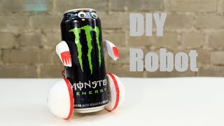 How To Make A Tin Can Robot
