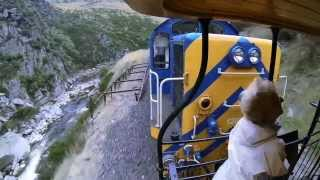 GoPro Falls Off Train In New Zealand