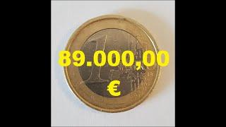 1 Euro Fehlprägung 89.000,00 €