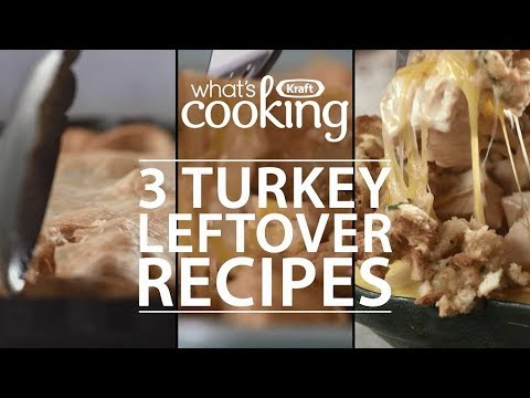 3 Turkey Leftover Recipes