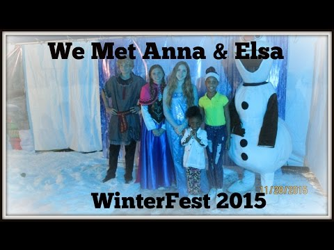 Anna and Elsa from Frozen !! | BLACK Family Vlogs
