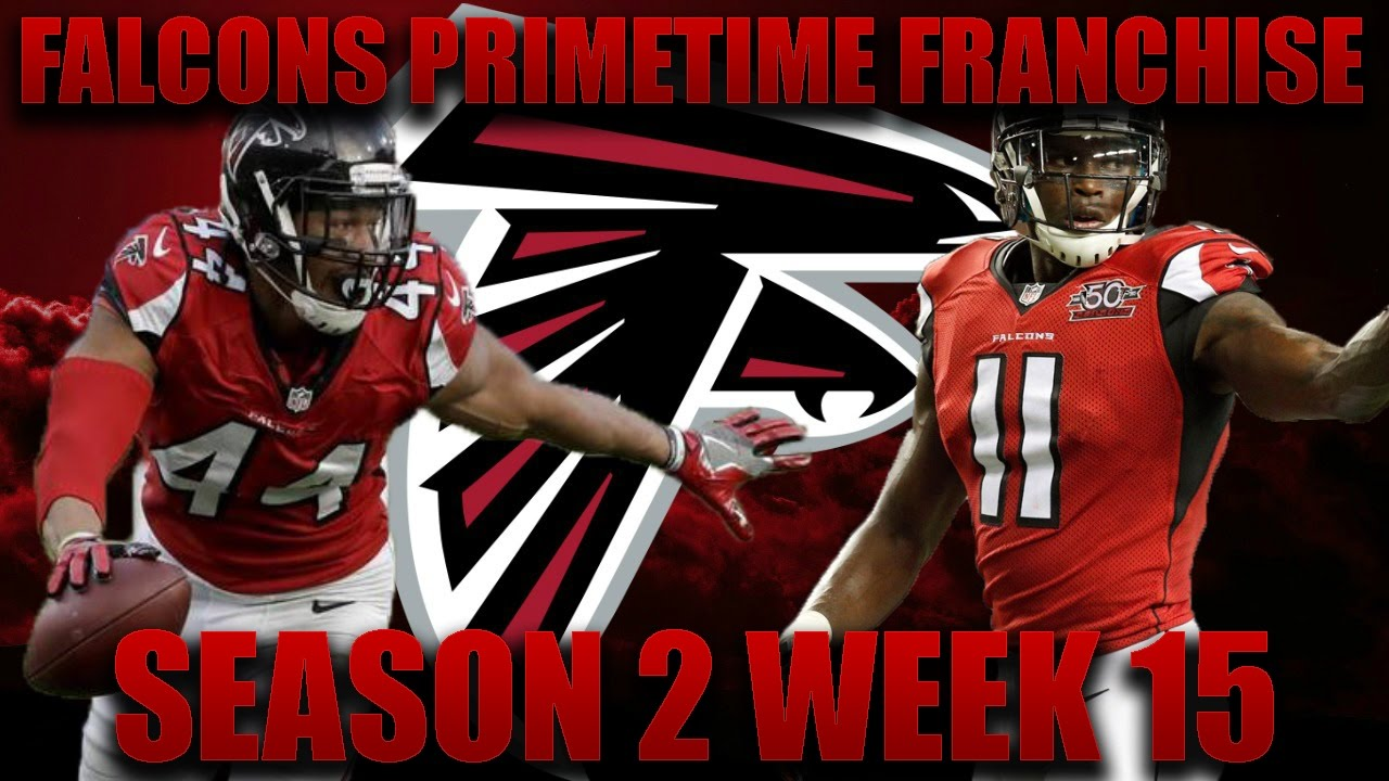 Madden 17 Falcons Franchise | Primetime League Season 2 ...