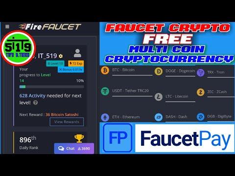 Faucet Crypto Terbaik || Firefaucet Cryptocurrency || Mining Multicoin Tercepat 2021