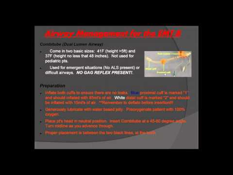 Advanced Life Support (ALS) Assist for the EMT Lecture