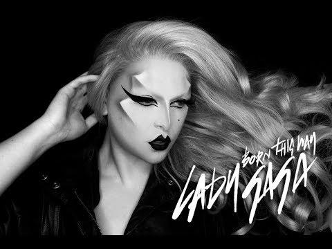 Lady Gaga: Born This Way Inspired Makeup Tutorial