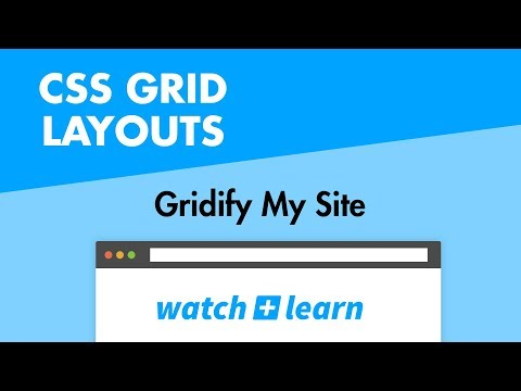 CSS Grid Layouts - Gridify My Site