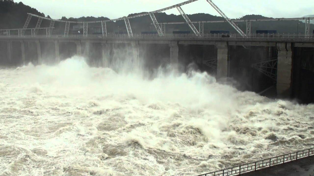 Dam Discharge 댐방류 급류 보드와래프팅 Youtube
