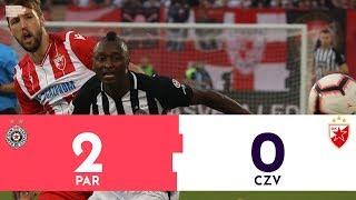 Partizan - Crvena zvezda 2:0 | Pregled utakmice